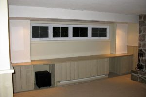 6. In-Wall Speakers and Retractable Screen