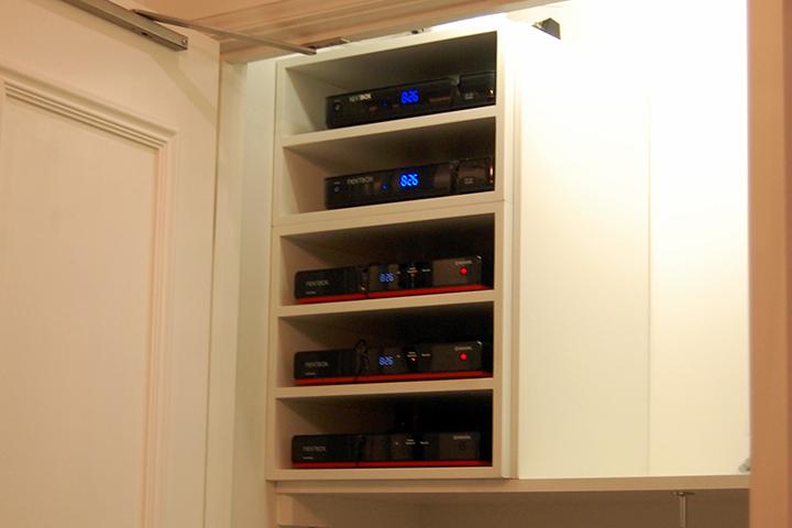 Custom Audio Furniture