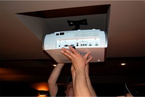 4. Putting the Projector in Place