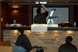 5. Putting the Projector in Place