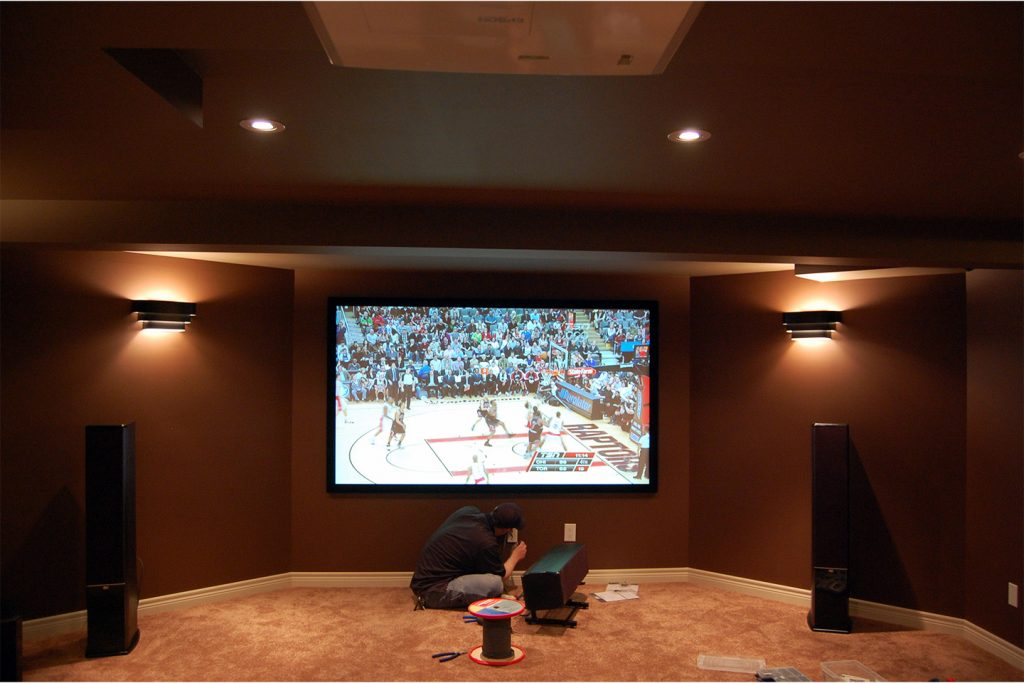 7. Home Theater Final Touches