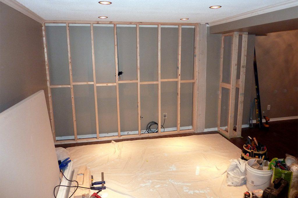 3. Framing The Wall