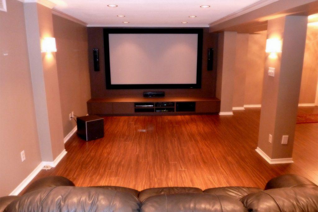 6. Final Basement Home Theater