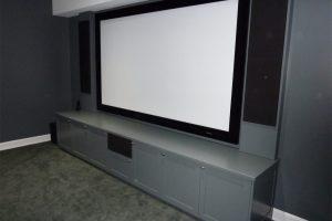 5. Home Theater Equipment Hidden Away