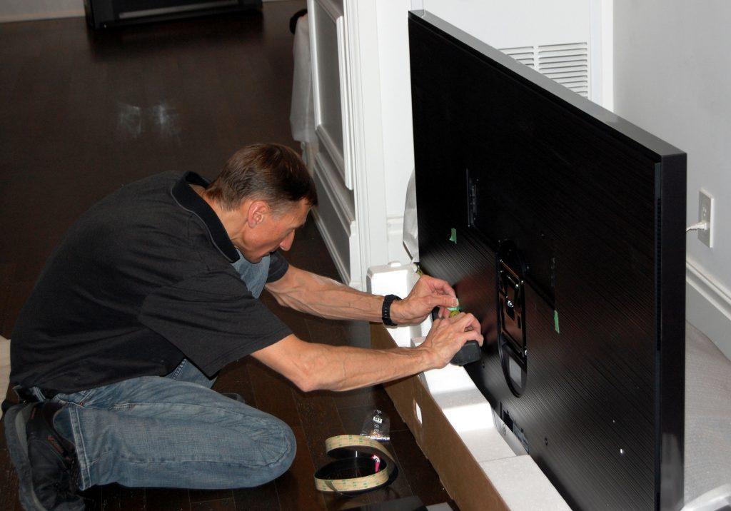 Preparing The Samsung Frame TV