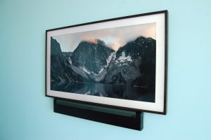 Samsung Frame with Sonos Playbar