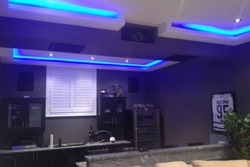 Hidden Projector - LED Lighting