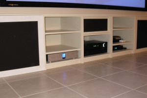 Custom Cabinetry by Toronto Home Theater