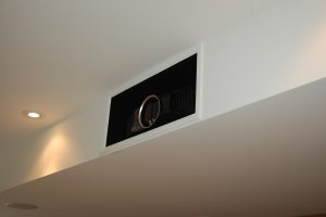 Built in Projector in Existing Bulkhead