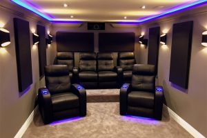 BACK - Riser with Home Theater Seating