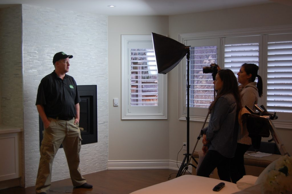 Homestars Filming Home Theater 101